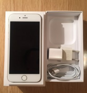 iPhone 6, Silver, 16 гб