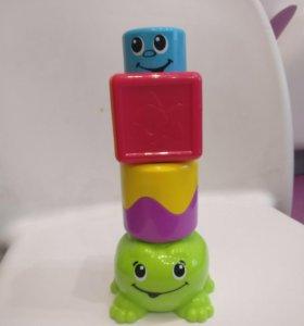 Кубики-пирамидка Fisher Price