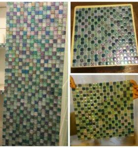 Плитка, мозайка. Размер 30Х30. 6 штук.