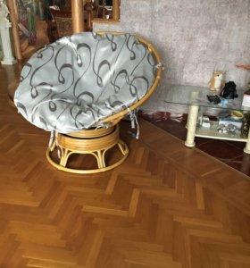 Папасан кресло-качалка