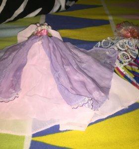 Платья на кукол