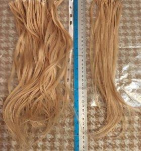 Волосы для наращивания 40см, славянские 120 прядей