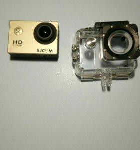 Оригинальная экшен-камера SJCAM 4000 2.0 золотой