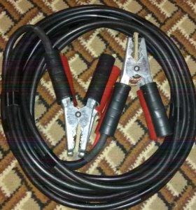 Провода для прикуривания авто 300 Ампер, 4,5 метра