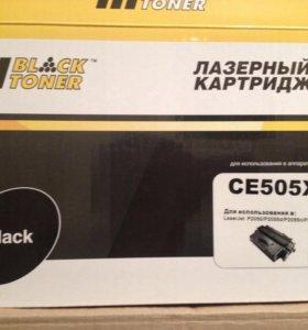 Картридж hi black ce 505 x