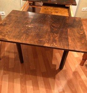 Раздвижной деревянный стол