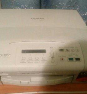 Принтер цветной brother DCP-195C