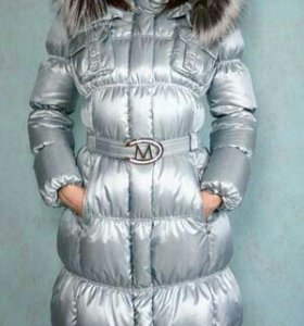Пуховое пальто Merlion.