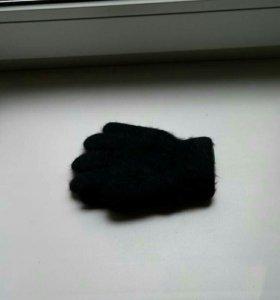 Новые перчатки мальчик, девочка мех ангора