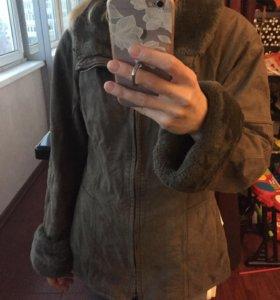 Куртка димесезонная замша Galerie