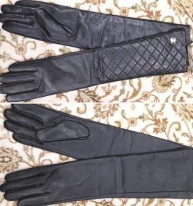 перчатки натуральная кожа