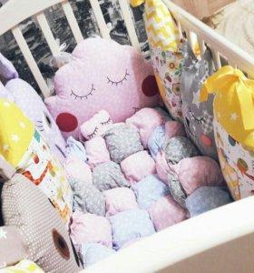 Бортики подушки игрушки