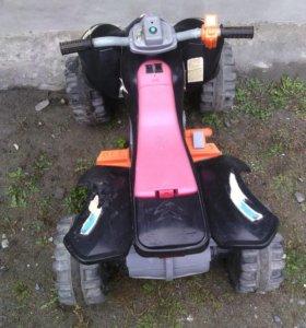 Мотоцикл для ребенка на аккумуляторе