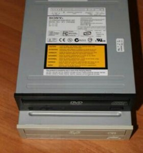 Приводы CD - RW / DVD - ROM