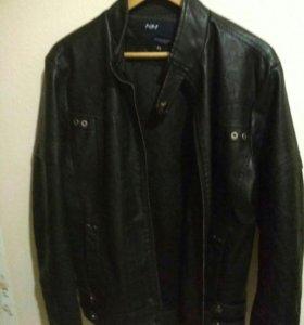 Куртка новая, искусственная кожа