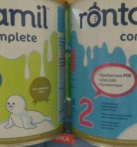 Молочная смесь rontamil 1,2