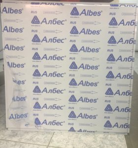 Панель «Албес» АР600А6 белый матовый А903 эконом