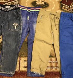Джинсы,брюки р.98