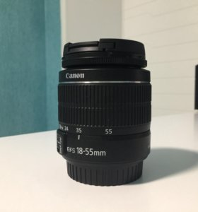 Новый объектив Canon 18-55 mm DC iii