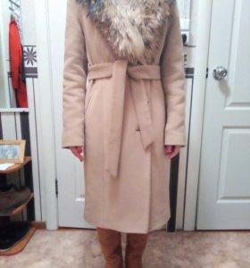 Пальто зимнее 42-44р.