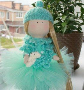 Интерьерная куколка Тиффани ручной работы