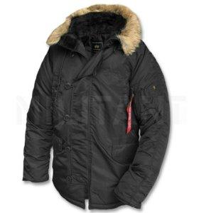 Куртка аляска Alpha Industries N-3B Parka зимняя