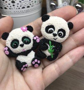 Брошка панда 🐼