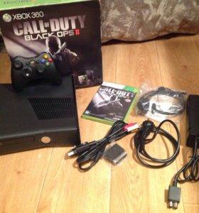 Xbox 360 Slim 250GB (не прошитый, 1 геймпад)