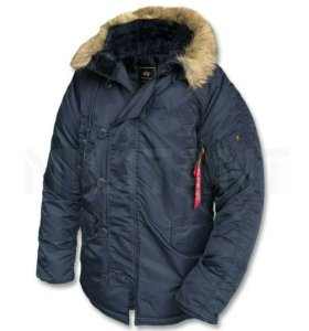 Куртка аляска Alpha Industries N-3B Parka