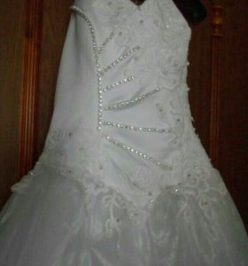 Свадебное платье.размер 46-48