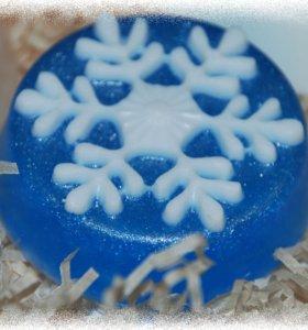 Мыло Снежинки 2