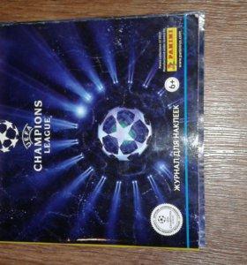 Альбом Panini UEFA Champions League 2013/2014
