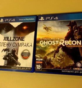 Killzone В плену сумрака. Tom Clancy Ghost Recon.