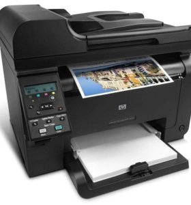 Цветное лазерное МФУ HP Color LaserJet Pro 176n