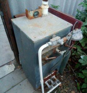 Газо-дровяной водяной котел