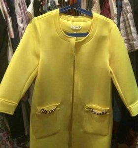 Новый удлиненный пиджак