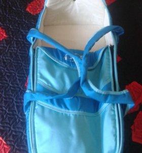 Переноска для ребенка+сумка