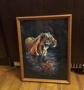 """Картина """"Тигр»"""