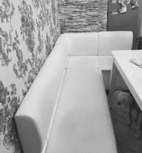 Комплект диван + два стула