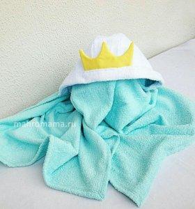 Хлопково́е махровое полотенце с капюшоном