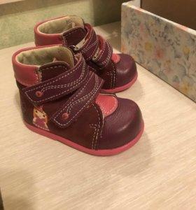 Ботинки для девочек 18 размер