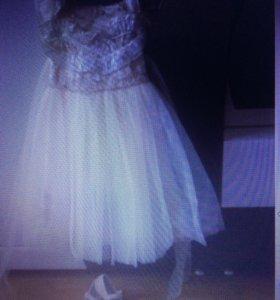 Платье нарядное размер:128