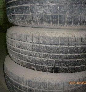 комплект колес на штампованных дисках