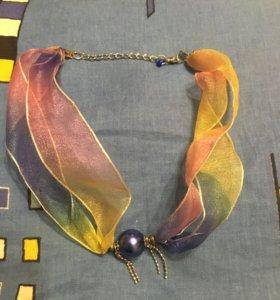 Шейное украшение(чокер)