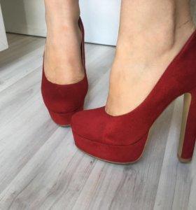 Туфли ( под замш )