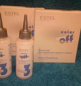 Estel color off (Эстель смывка краски)