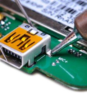 Замена разъема зарядки на различных устройствах