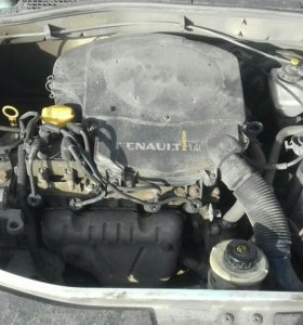 Двигатель 1.4л рено логан