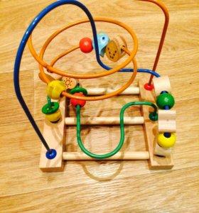 Логическая игрушка лабиринт