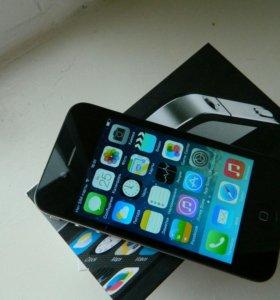 Новый Чёрный айфон 4